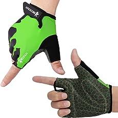 HIKING サイクリンググローブ 夏 3D 立体 サイクルグローブ 自転車 手袋 衝撃吸収 耐磨耗性 換気性 通気性 速乾性 滑り止め付き 5色 男女兼用