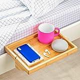 (Regular, Natural) - The Original BedShelfie Bedside Shelf - 3 Colours / 2 Sizes - AS SEEN ON Business Insider (in Natural)