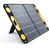TogoPower 60W Portable Foldable Solar Panel Battery Charger with Dual USB Ports & 18V DC Output for Portable Generator Power