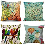 Emvency Throw Pillow Cover Decorative Pillow Case Home Decor Square Parent Pillowcase, Polyester & Polyester Blend, Multi 1,