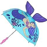"Kids Mermaid Umbrella Child's Size 30"" (Mermaid)"