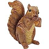 Design Toscano Woodland Squirrel Statue Chomper, Multicolored