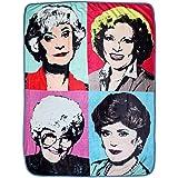 """Golden Girls Warhol Fleece Blanket Comforter   45""""x60"""""""