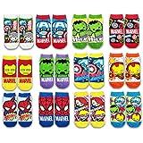 マーベル 靴下2 12種類柄12足セット 対応サイズ19~24㎝
