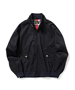 Perma-Prest Cotton Twill Blouson: Navy