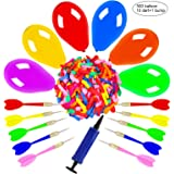 OOTSR Dart Balloon Game Set Includes 500 Balloons & 10 Darts Plus Pump - Exciting Outdoor Game for Adults, Best Carnival, Bir