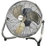 "Toyomi POF 1255 High Velocity Air Circulator Fan, 12"" Silver"