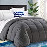 HARNY All Season Super Queen Comforter Size Soft Quilted Down Alternative Comforter Hotel Duvet Insert with Corner Tabs,Winte
