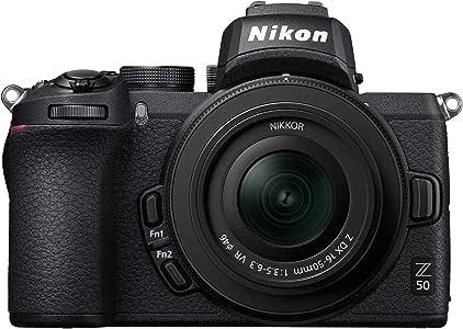 Nikon ミラーレス一眼カメラ Z50 レンズキット NIKKOR Z DX 16-50mm f/3.5-6.3 VR付属 Z50LK16-50