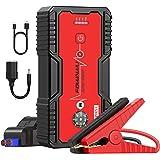 FOWAWU Car Jump Starter 18000mAh 1500A,Water-Resistant Jump Starter Battery Pack(7.0L Gas,5.5L Diesel) ,Battery Jumper Starte
