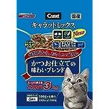 (まとめ買い)キャラットミックス かつお仕立ての味わいブレンド 3kg 猫用 キャットフード 【×3】