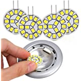 Kohree LED Replacement G4 LED Bulb 12V Ceiling Recessed Puck Light Bulb for RV Camper Trailer Motorhome 5th Wheel and Marine