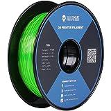 サインスマートSainSmart  3Dプリンタ向け1.75mm 0.8kg / 2.2lb フレキシブル(TPU)シリーズ フィラメントRepRap グリーン