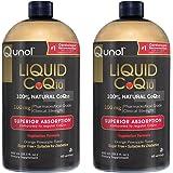 Qunol Liquid CoQ10 100mg, Superior Absorption Natural Supplement Form of Coenzyme Q10, Antioxidant for Heart Health, Orange P