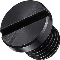 ポッシュ(POSH) ミラーホールカバーキャップ M10 正ネジ ブラック (1個入) 000806-06