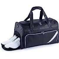 S.T.Golf ゴルフボストンバッグ メンズ ゴルフトートバッグ 防水 合皮 ショルダーストラップ付属