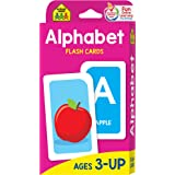 School Zone - Alphabet Flash Cards - Ages 3 and Up, Preschool, ABC's, Letters, Beginning Sounds, Letter-Picture Recognition,