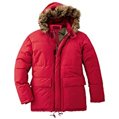 1963 Mount Everest Down Parka 019136: Ascent Red