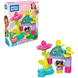 Mega Bloks First Builders Flower Garden with Big Building Blocks, Building Toys for Toddlers (13 Pieces)