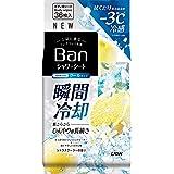 Ban(バン) 爽感さっぱりシャワーシート クールタイプ シトラスクーラーの香り 36枚