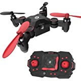 Holy Stone HS190 Foldable Mini Nano RC Drone for Kids Gift Portable Pocket Quadcopter with Altitude Hold 3D Flips and Headles