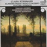 クララ・シューマン(1819-96独):ピアノ協奏曲イ短調op.7、ピアノ三重奏曲ト短調op.17、ヴァイオリンとピアノのためのロマンスop.22