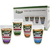 Bird Street Bistro Parrot Food Sample Pack Cooks in as Little as 3 min | All Natural & Organic Grains and Legumes, Healthy Fr