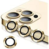 [3+1] Wsken Camera Lens Protector for iPhone 12 Pro Max (6.7 inch), Upgraded HD Tempered Glass Aluminum Alloy Lens Screen Cov