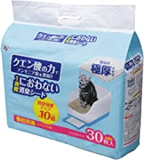アイリスオーヤマ システム猫トイレ用脱臭シート クエン酸入り 30枚入