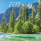 California Wild & Scenic 2021 7 x 7 Inch Monthly Mini Wall Calendar, USA United States of America Pacific West State Nature