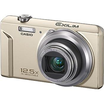 CASIO EXILIM デジタルカメラ 1,600万画素 ゴールド EX-ZS170GD