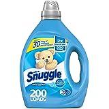 Snuggle Liquid Fabric Softener, 2X Concentrated, Blue Sparkle, 200 Loads, 80 fl. oz.