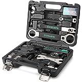 23 Piece Bike Tool Kit - Bicycle Repair Tool Box Compatible - Mountain/Road Bike Maintenance Tool Set with Storage Case