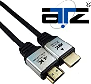 ATZ High Speed HDMI v2.0 Cable with Ethernet - 4 Meter, HDMI Cable 4K 4m