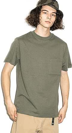 (グッドウェア) Goodwear USAコットン無地ポケットTシャツ