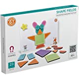 ButterflyFields Magnetic Shapes Puzzles Toys for Kids 2 Years Above Boys & Girls - 23 Pieces| Educational Fun Festival  Unlim