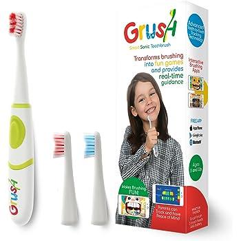 歯磨きでモンスターが倒せる!?スマホゲームと連動した電動歯ブラシ「Grush」子供用歯ブラシ 音波振動歯ブラシ