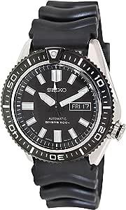 セイコー Seiko Men's SKZ327 Diver's Black Rubber Automatic Black Dial Watch 男性 メンズ 腕時計 【並行輸入品】
