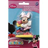 Wilton Decorative Candle Small Minnie Mouse
