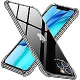 iPhone 12 Pro ケース クリア TPU 薄型 6.1 インチ スマホケース 耐衝撃 軽量 耐久 滑り止め 透明 ソフト アイフォン 12 pro カバー スクラッチ防止 衝撃吸収 レンズ保護 保護カバー AYS-8-2