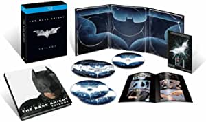 ダークナイト トリロジー ブルーレイBOX(初回数量限定生産) [Blu-ray]