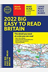 Philip's EasyRead Britain Road Atlas: (A3 Spiral binding) Spiral-bound