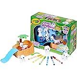 Crayola Scribble Scrubbie Safari Animal Play Set