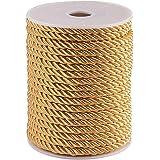 PH PandaHall 約20m/巻き 5mm ツイスト ナイロン ロープ 編みコード ナイロン糸 トリムコード クラ…