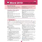 Word 2019 Reference and Cheat Sheet: The unofficial cheat sheet reference for Microsoft Word 2019