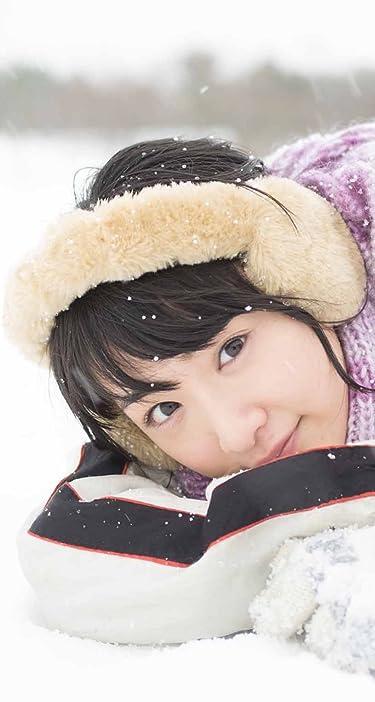 乃木坂46  iPhone/Androidスマホ壁紙(744×1392)-1 - 生駒里奈ファースト写真集『君の足跡』 雪の上で寝る