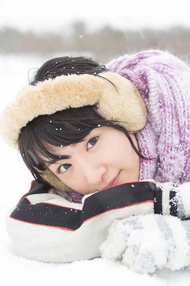 乃木坂46 生駒里奈ファースト写真集『君の足跡』 雪の上で寝る iPhone(640×960)壁紙 画像45573 スマポ