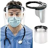 Medspec Protect Face Shield (Model FS-2.0) | Reusable Shields for Medical, Dental, & Essential Workers | Fogless & Adjustable