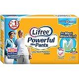 Lifree Powerful Slim Pants, L, 10 Count