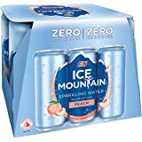 Ice Mountain Sparkling Peach Can, 325 ml (Pack of 6)